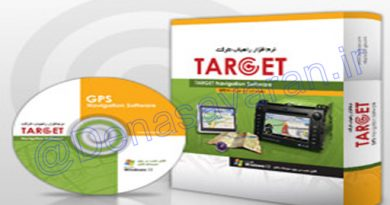 نرمافزار راهیاب GPS تارگت (نصب بر روی دنا و دنا پلاس ، کوییک و ….)